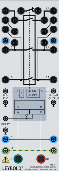Power circuit breaker module