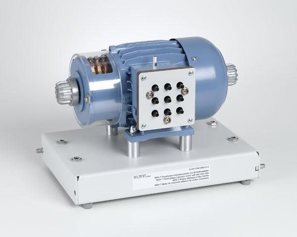 7 Dreiphasen-Induktionsmotor 230/400V m. Schleifringläufer 0,3