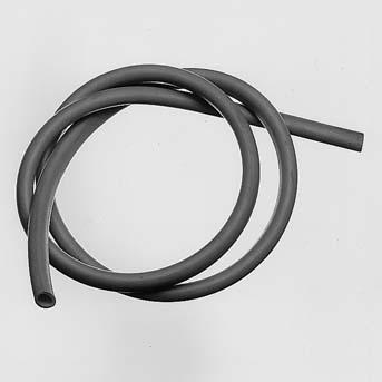 Rubber tubing, 1 m x 4 mm diam., DIN 12865