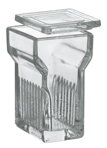 Staining jar according to Hellendahl
