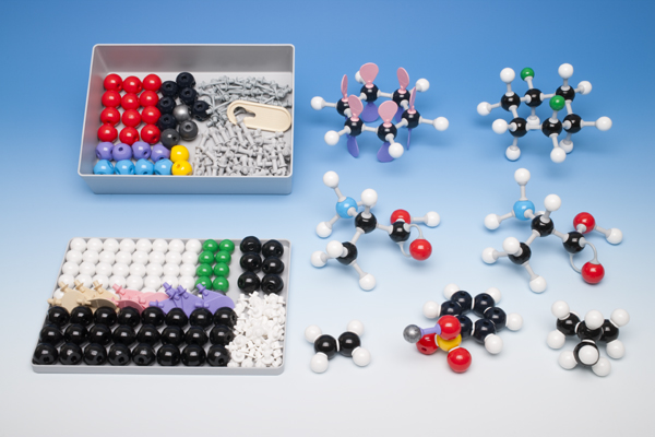 Molecule building set for teachers, organic