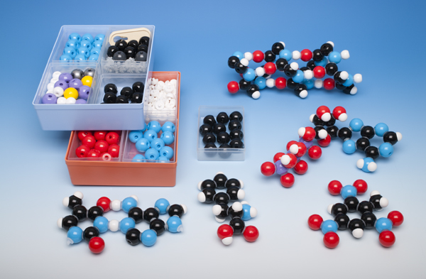 Molecule building set for teachers, biochemistry
