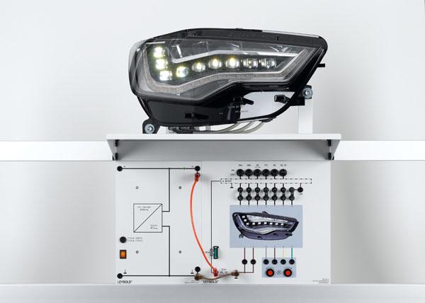 led scheinwerfer vernetzte beleuchtungsanlage elektrik. Black Bedroom Furniture Sets. Home Design Ideas