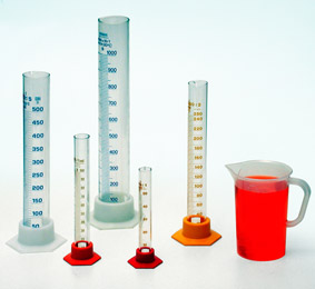 Determining the volume of liquids