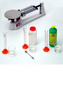 Determining the density of a liquid - Determining mass and volume