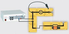 Magnetsicherung - Aufbau mit Leiterbausteinen