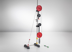 Pulley Machines : Block and tackle forces mechanics physics