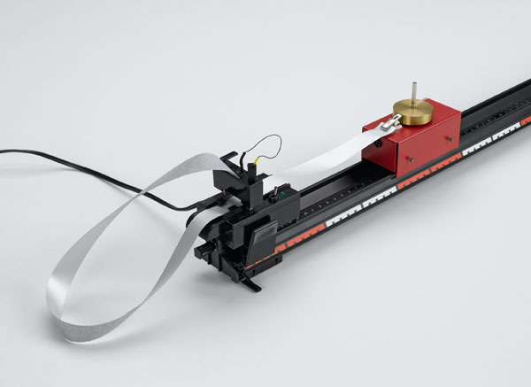 Recording path-time diagrams of linear motion - recording with the time recorder