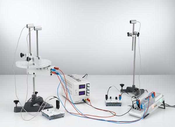Interferenz zweier Ultraschallbündel