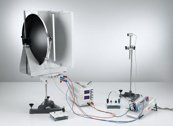 Beugung von Ultraschallwellen am Einfachspalt