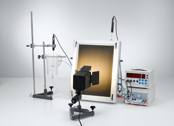 Bestimmung des Wirkungsgrades eines Solarkollektors in Abhängigkeit vom Volumendurchsatz des Wassers