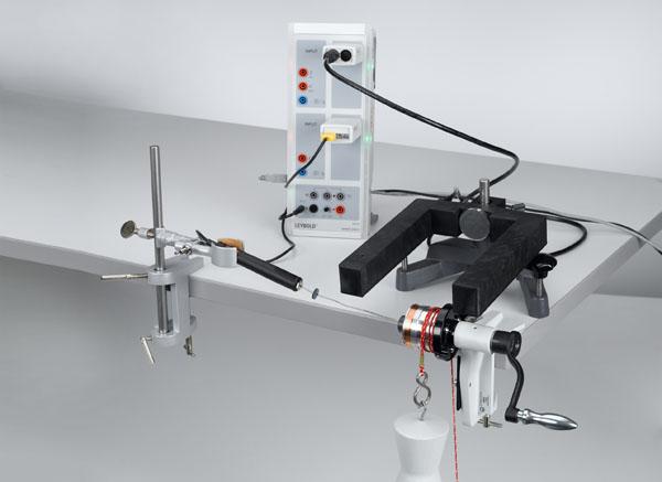 Umwandlung von mechanischer Energie in Wärmeenergie - Messung mit Mobile-CASSY