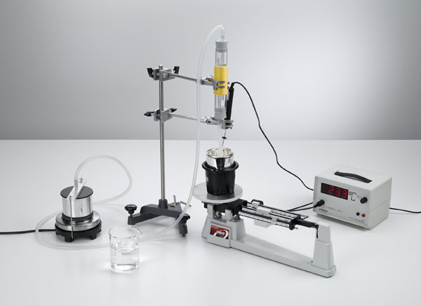Determining the specific vaporization heat of water