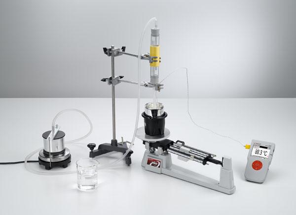 Bestimmung der spezifischen Verdampfungswärme von Wasser - Messung mit Mobile-CASSY