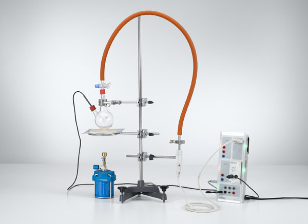 Recording the vapor-pressure curve of water - Pressures up to 1 bar