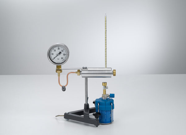Recording the vapor-pressure curve of water - Pressures up to 50 bar