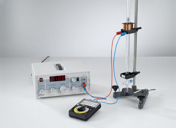 Determining the adiabatic exponent c<sub>p</sub>/c<sub>V</sub> of various gases using the gas elastic resonance apparatus