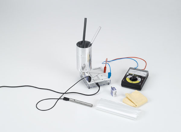 Basic electrostatics experiments with the electrometer amplifier