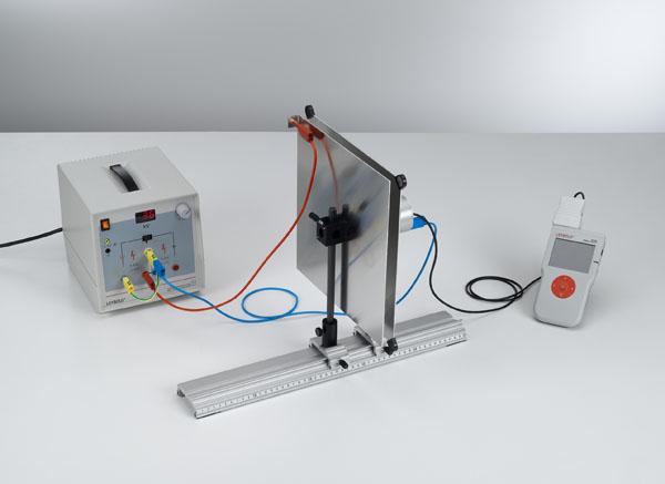Messung der Feldstärke in einem Plattenkondensator