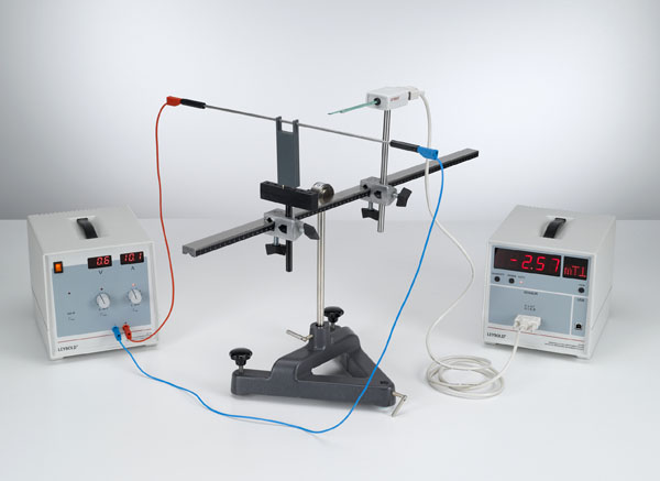 Magnetfeldmessung am geraden Leiter und an kreisförmigen Leiterschleifen