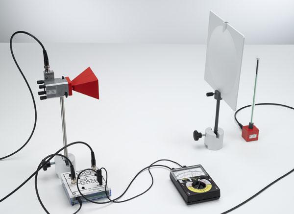 Brechung von Mikrowellen