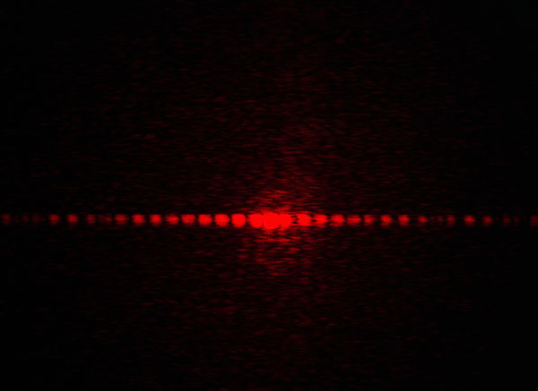 Diffraction at a double slit and multiple slits