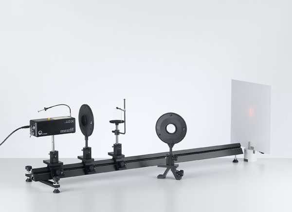 Interferenz am Fresnelschen Biprisma mit einem He-Ne Laser