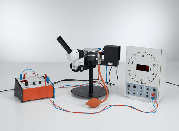 Determining the electric unit charge after Millikan and verifying the charge quantification - Measuring the suspension voltage and the falling speed
