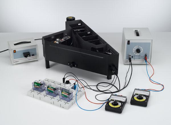 Bestimmung des Planckschen Wirkungsquantums - Aufnahme der Strom-Spannungs-Kennlinie, Messung in einer Kompaktanordnung