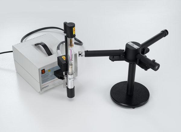 Beobachtung der Balmer-Serie des Wasserstoff mit einem Prismenspektrometer