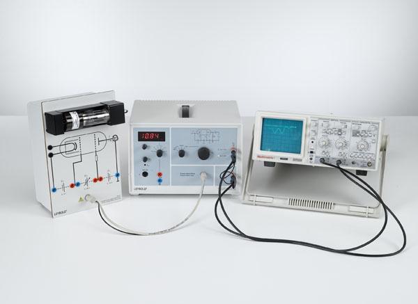 Franck-Hertz-Versuch an Neon - Aufzeichnung mit dem Oszilloskop