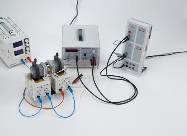 Kernspinresonanz an Polystyrol, Glyzerin und Teflon