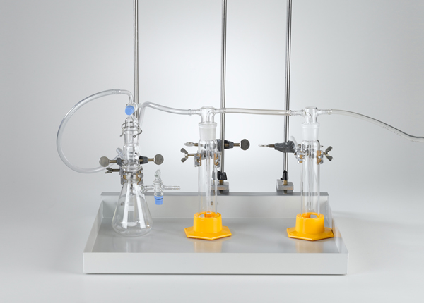 Production of gases with a Kipp's apparatus