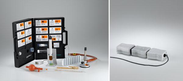 Bestimmung von Wasserinhaltsstoffen mit Nachweisreagenzien und Eintauchphotometer