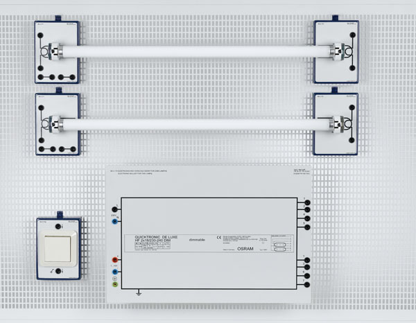 U 4.130 Installation circuits with fluorescent lamps (module system)