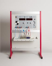 Einfluss des Elektrodenabstands bei einem galvanischen Element